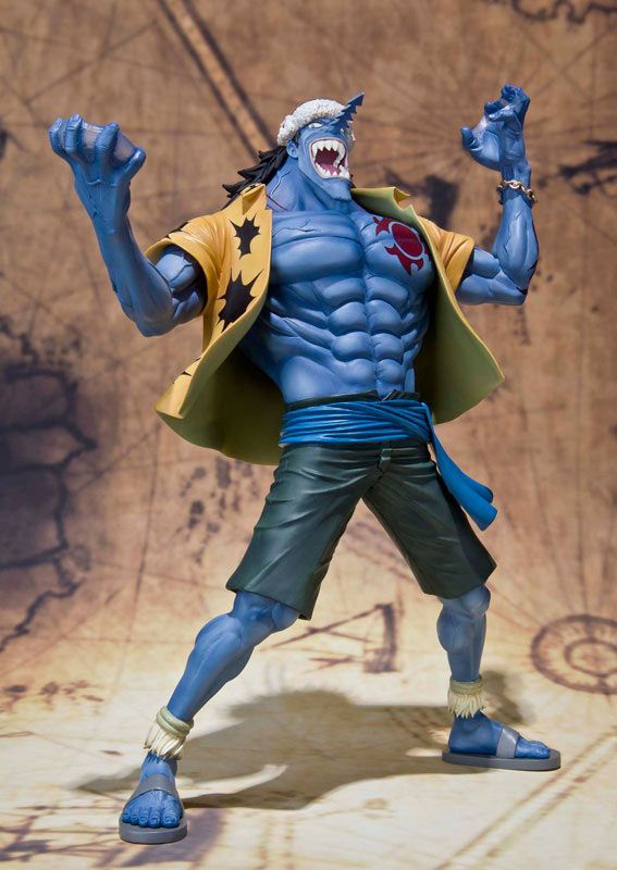 Figura One Piece. Arlong, Figuarts Zero 17cm Figura articulada de 17cm perteneciente a Arlong, uno de los personajes del manga-anime One Piece.