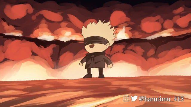 Pov You Re Jougo Jujutsukaisen Anime Anime Films Anime Funny