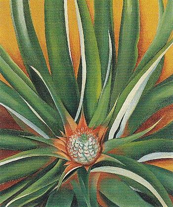 Georgia O'Keeffe. Pineapple Bud 1939