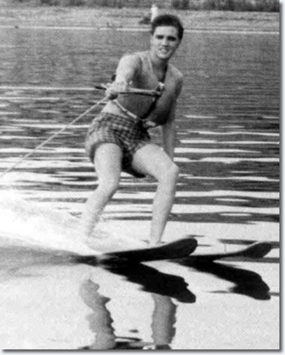 Elvis on Holiday : Water Skiing : McKellar Lake : July 1955 & Biloxi : July 31, 1956