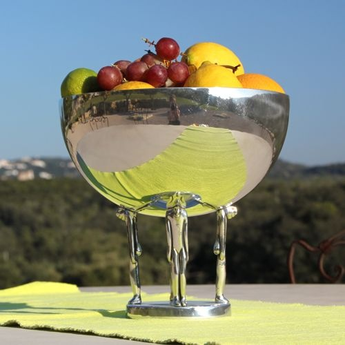 Fruit bowl with a difference by Carrol Boyes