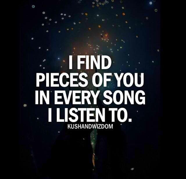 Songs With Quotes About Love : Music Quote: Songs About You, Music Therapy, Every Songs Reminder Me ...