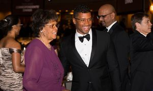 Russell Wilson attends White House Correspondents' Dinner with Grandmother