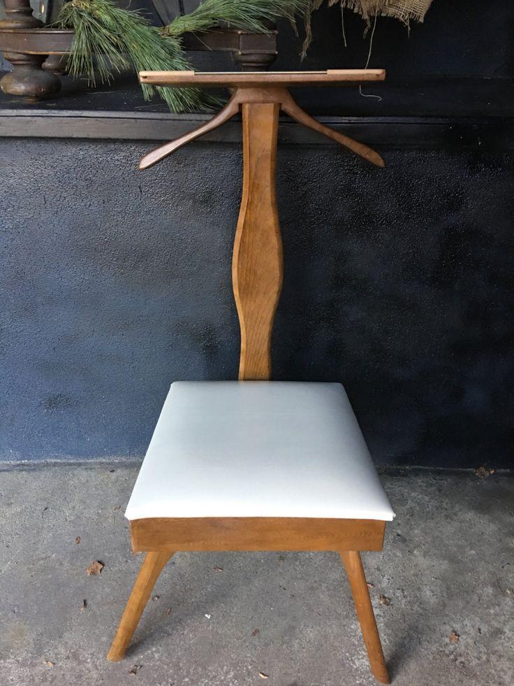 Mid Century Valet Wardrobe   Mid Century Modern Menu0027s Valet   Vintage Valet  Chair   Menu0027s