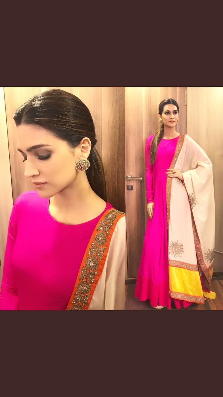 You can also wear a Salwar Kameez which vary in length and style and consist of a tunic (kameez), bottoms (salwar), and a scarf (dupatta).