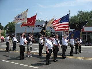 Morton Grove, Illinois' July 4th parade.