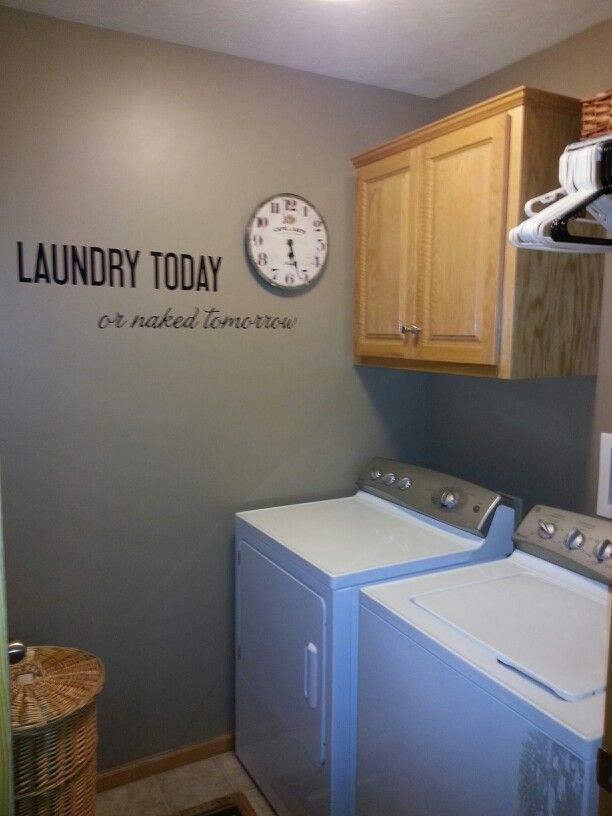 Laundry Makeover Love Behr Paint Quot Pure Earth Quot Warms
