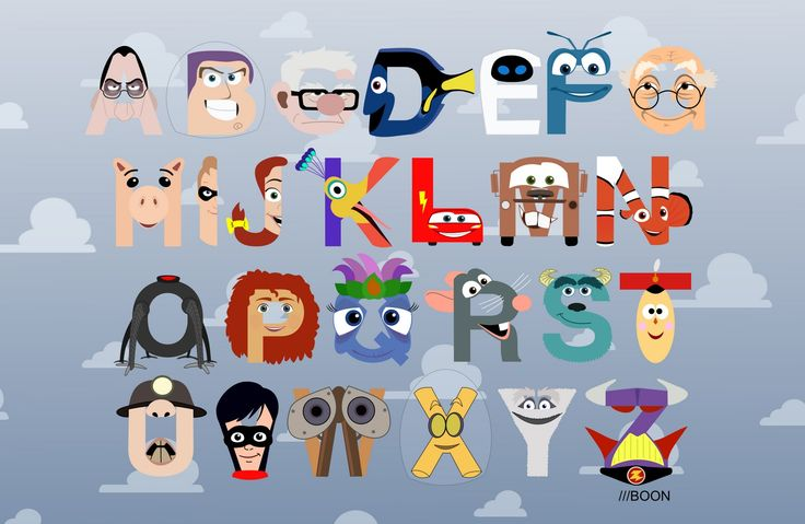 Alphabet Kid Room Ideas