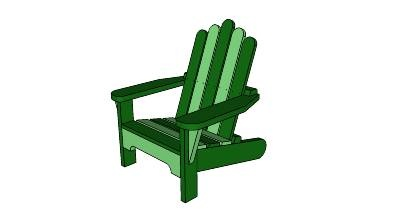 Pattern for child adirondack chair woodworking projects plans - Patterns for adirondack chairs ...