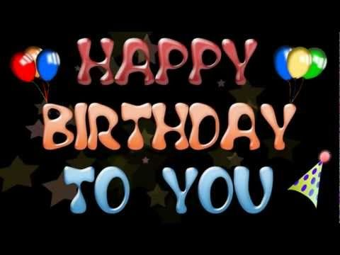 THE BEST HAPPY HAPPY BIRTHDAY TO YOU - Happy birthday song - YouTube