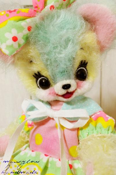 Patel Mohair Teddy Bear by Mary Lou
