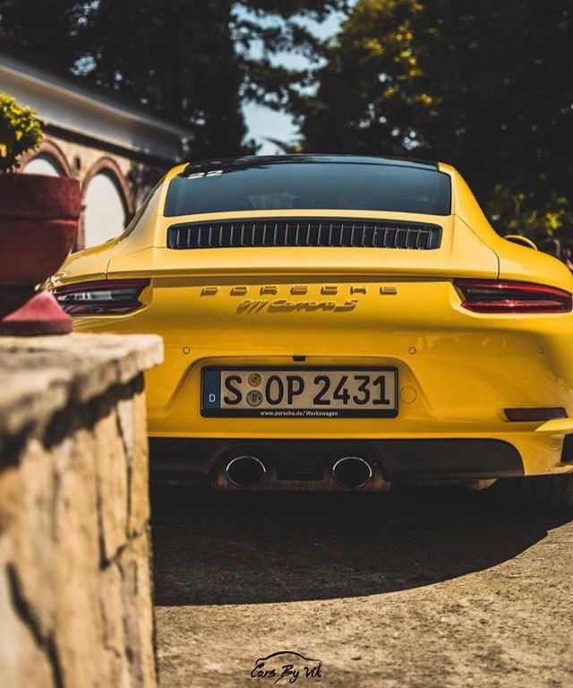 Yellow Is Such A Great Color For A Car Porsche 911 Ferdinand