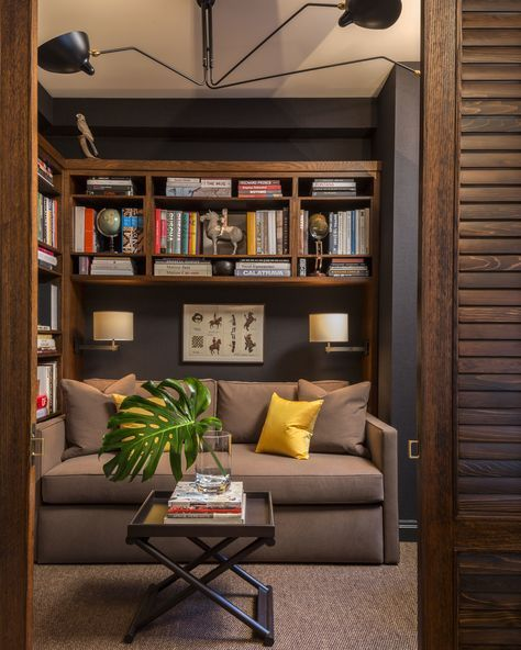 Extraordinary Small Home Office Shelving Ideas: 25+ Best Ideas About Small Den On Pinterest