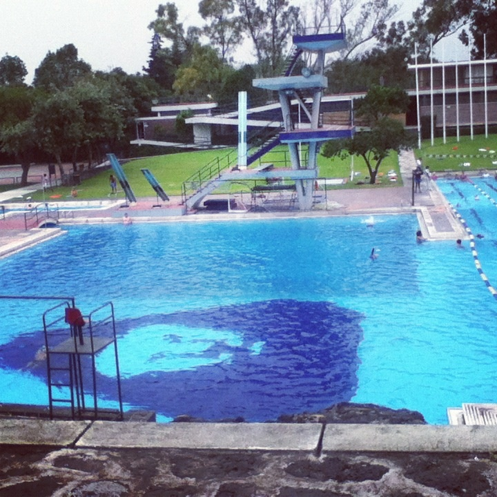 Alberca Olimpica, UNAM.
