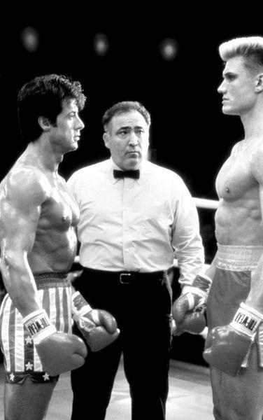 .      Rocky Balboa andIvan Drago    Rocky IV (1985)