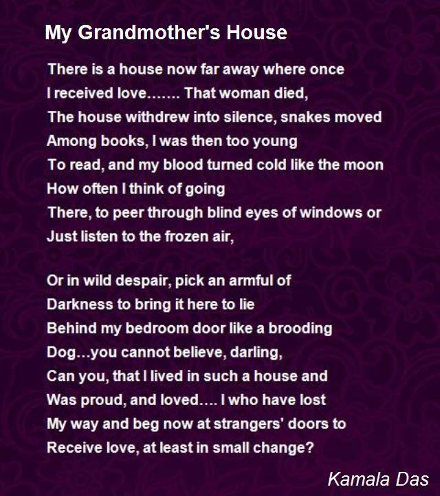 Short essay on my grandmother