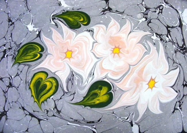 120 Best Ebru Images On Pinterest Paper Marbling Ebru