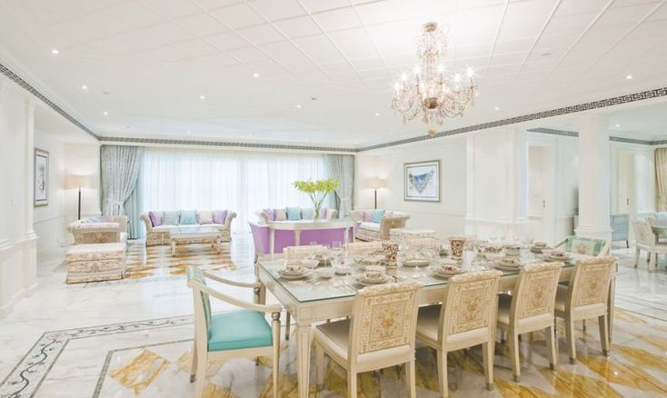 Le più belle suite di hotel ideate dagli stilisti di moda