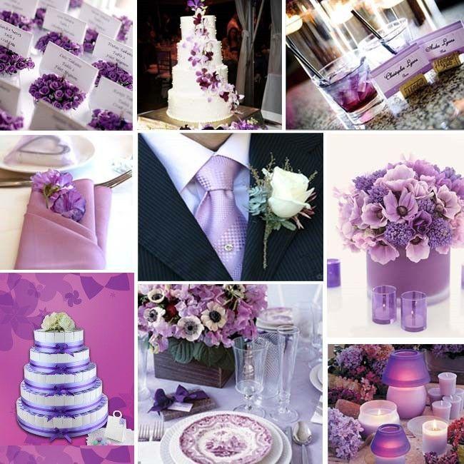 Décoration de mariage violette - Mariage idées