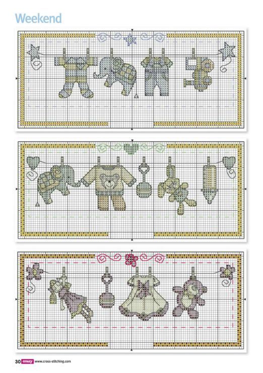 Birth announcement part 1 free cross stitch patterns