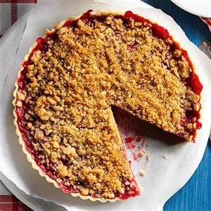 Cherry-Almond Streusel Tart Recipe