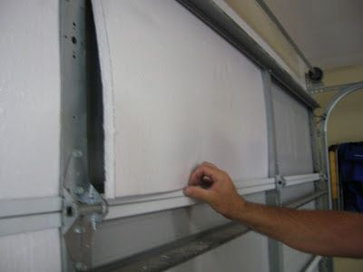 Garage Door Manufactures Want Hundreds Of Dollars For An Insulation Kit. A  New Insulated Garage