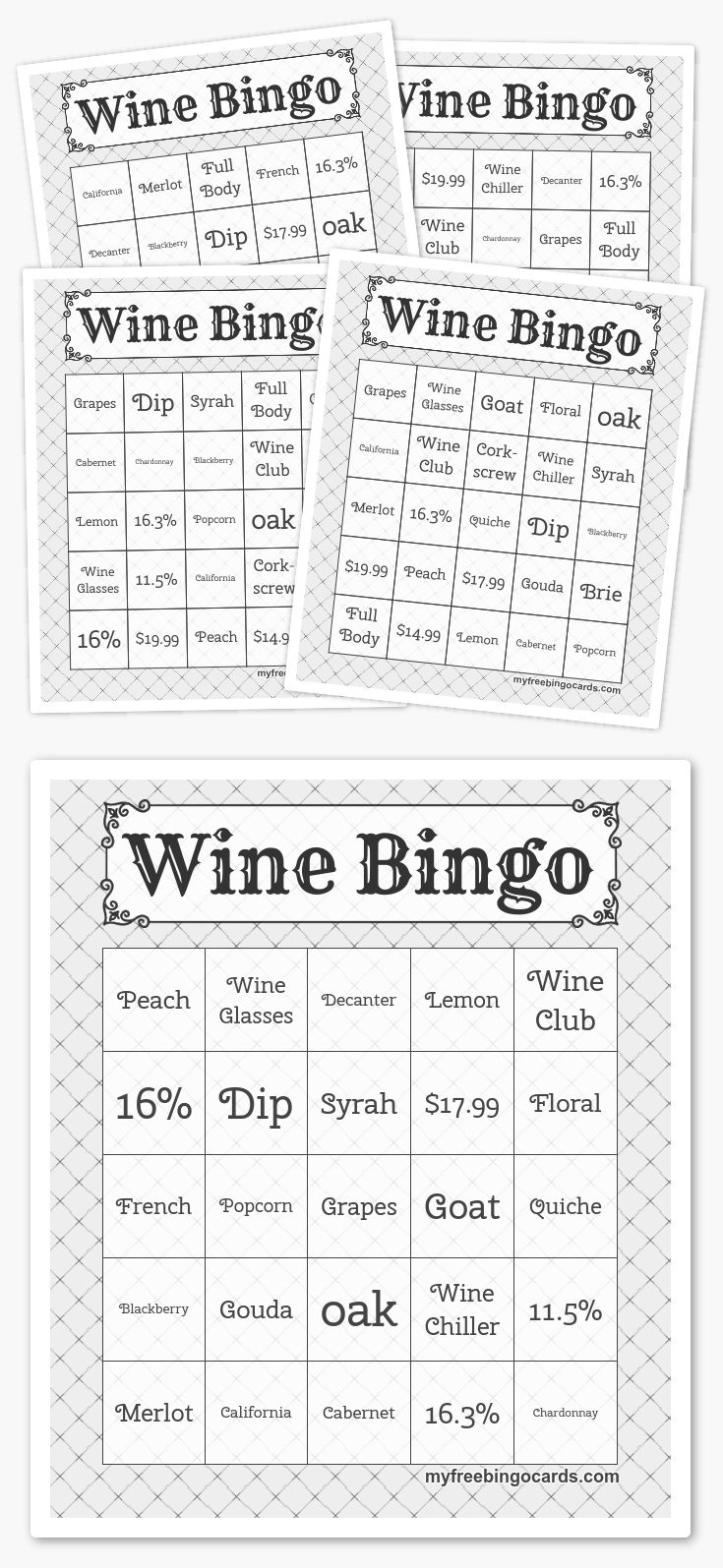 Make your own free bingo cards at myfreebingocards.com
