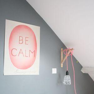 Image of Affiche Be calm // en commande, pas de date de réassort