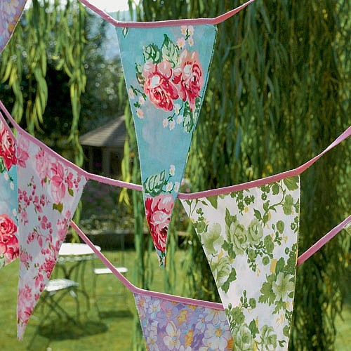 how to make garden bunting