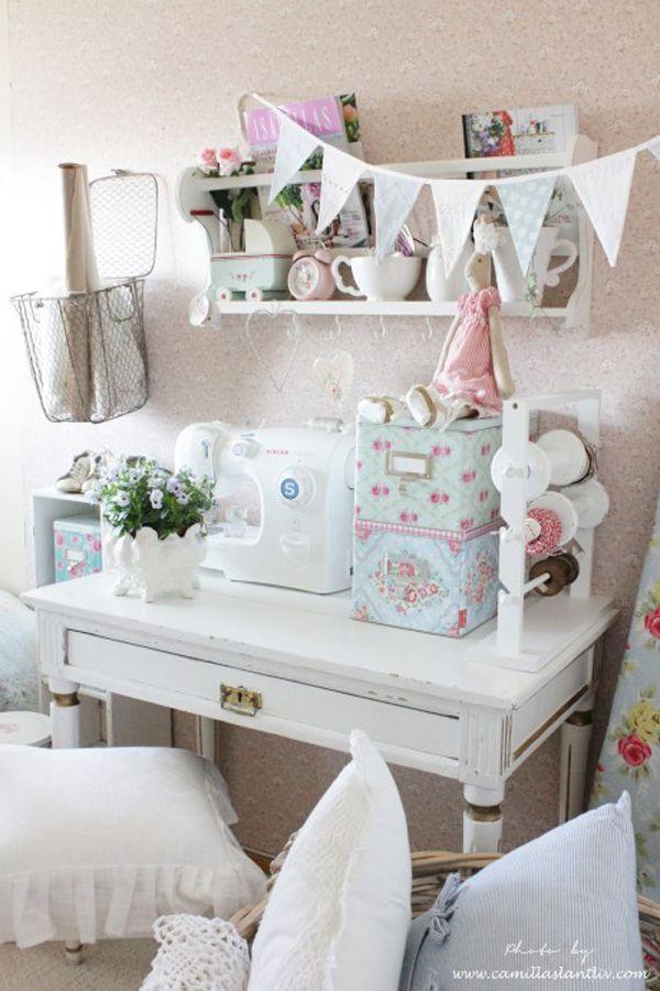 Heart Handmade UK: An Inspiring Sewing Room