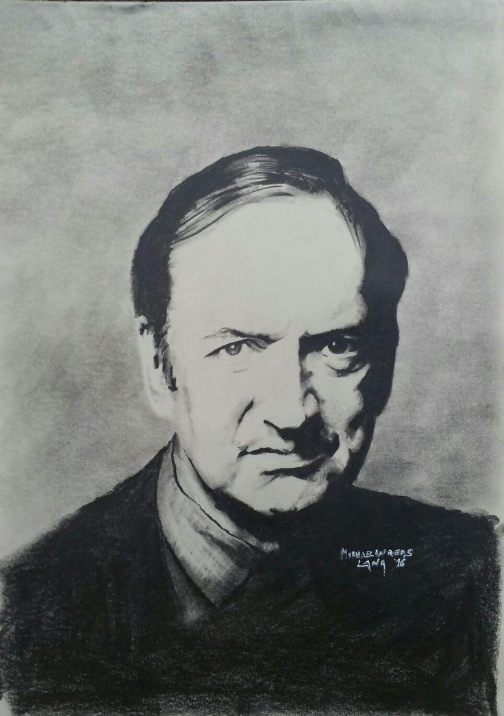Nikolaus Harnoncourt  40x50cm Pencil on paper