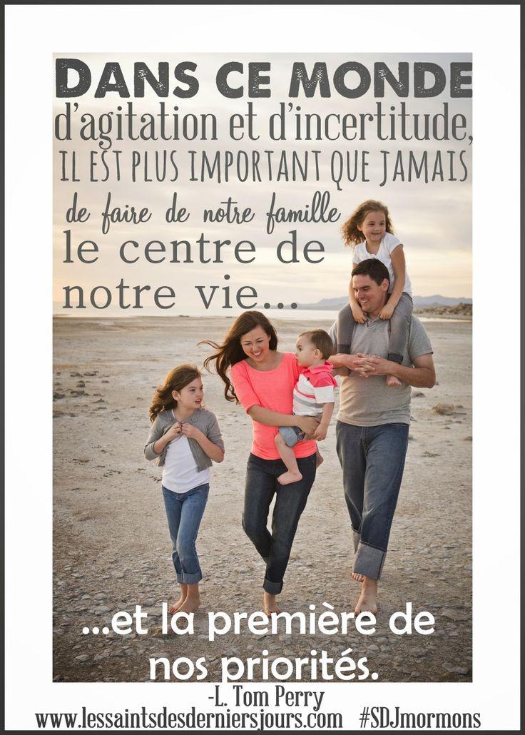 Les Saints des Derniers Jours: L'importance de la famille