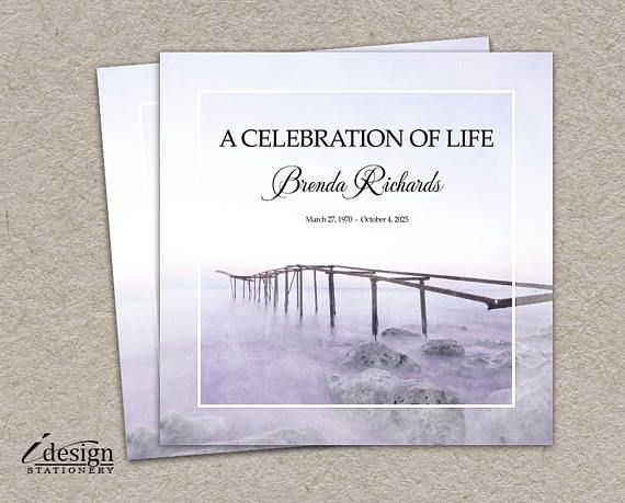 10 best Funeral Stationery images on Pinterest Funeral - memorial service invitation wording