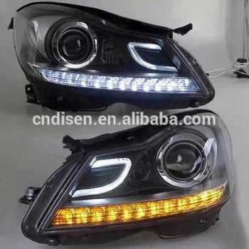LED Auto Lamp For Mercedes-Benz W204 C-class 2011-2014 C204 C63