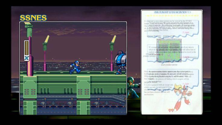 Megaman X1 - SSNES manual reader