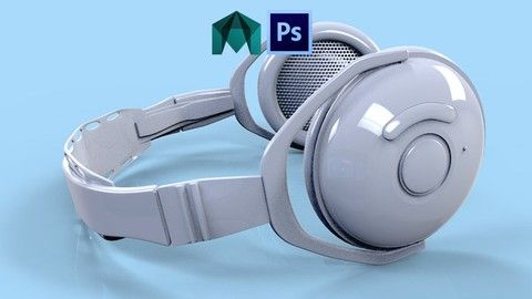 Creating 3D Prototypes in Maya - Headphones with Blue Tooth | Learn to create and model realistic concept prototypes in Maya this course is for all levels