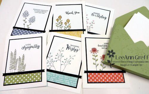 A2 Envelope Punch Board Card Box & Flowering Fields cards | Flowerbug's Inkspot | Bloglovin'