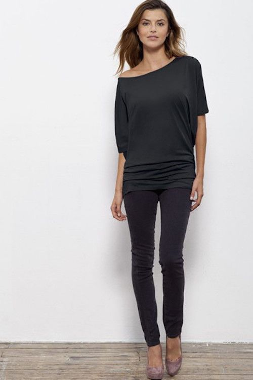 Roseannah - Ethical & Sustainable Stella Top - Black