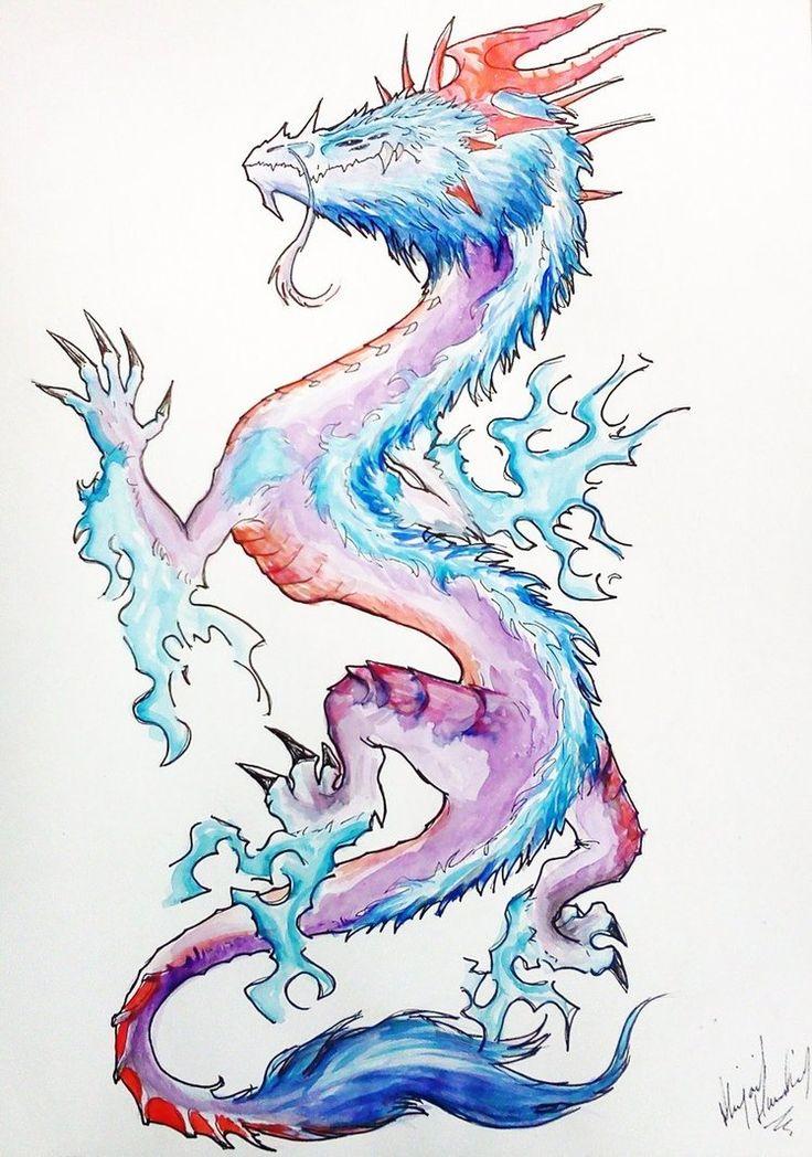 Design : Dragon Tattoo by Abz-J-Harding