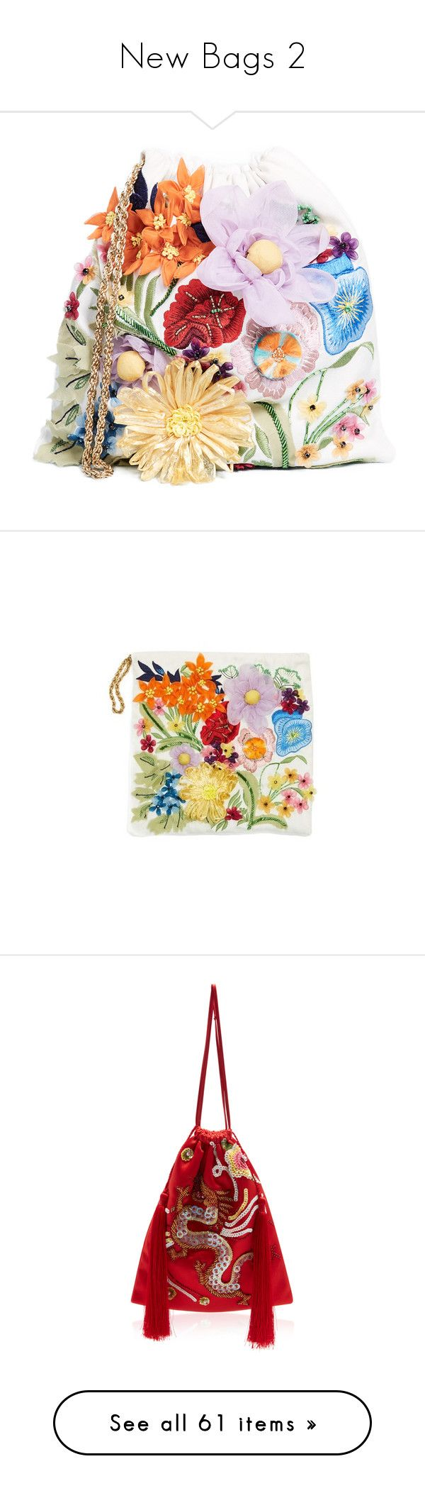 """New Bags 2"" by briaud ❤ liked on Polyvore featuring bags, handbags, clutches, pink, gucci purse, gucci, multi colored clutches, zip purse, gucci clutches and multi"