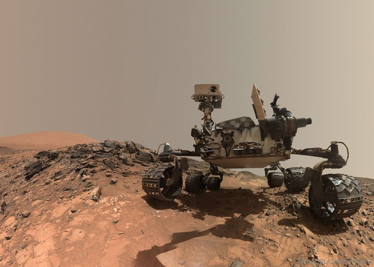 Curiosity Rover Takes Selfie on Mars #picoftheday
