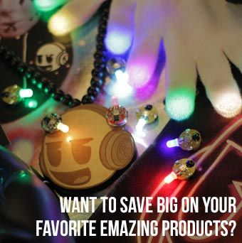 EmazingLights: Light Show Gloves, Rave Lights, Orbit,glow gloves,Rave Store, Gear
