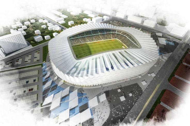 batumi stadium in georgia by bahadir jul