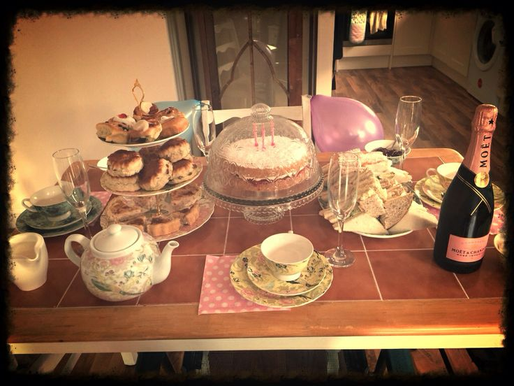 Beccis birthday afternoon tea