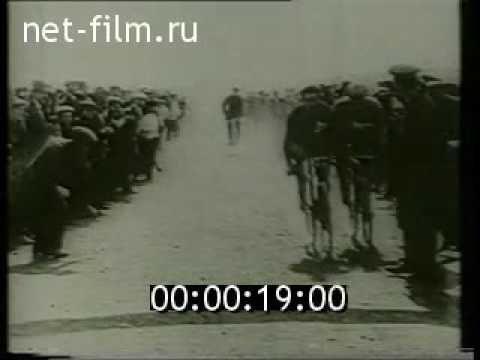 Первые велосипеды - 1893  Старые раритетные кадры