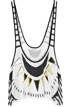 Sass and Bide Embellished tank top