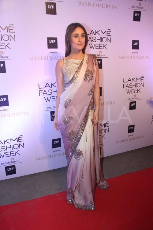 Manish Malhotra kick-started the Lakme Fashion Week (LFW) Summer-Resort 2016 with a glamorous offsite show in Mumbai today. Seen here is his favorite...