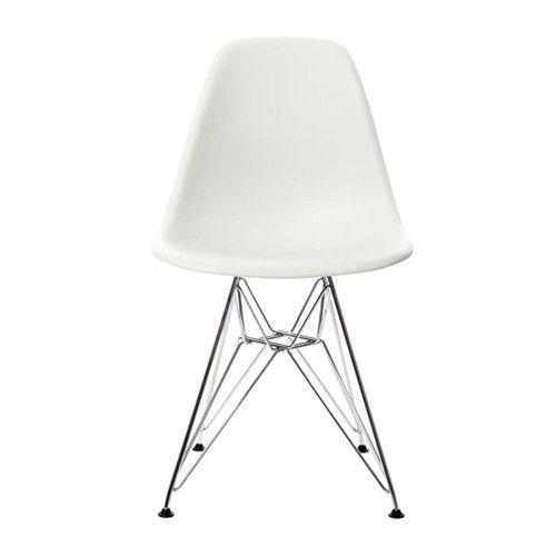 Vitra eames dsr stoel verchroomd loods 5 loods 5 design art pinterest eames - Eames eames stoel ...