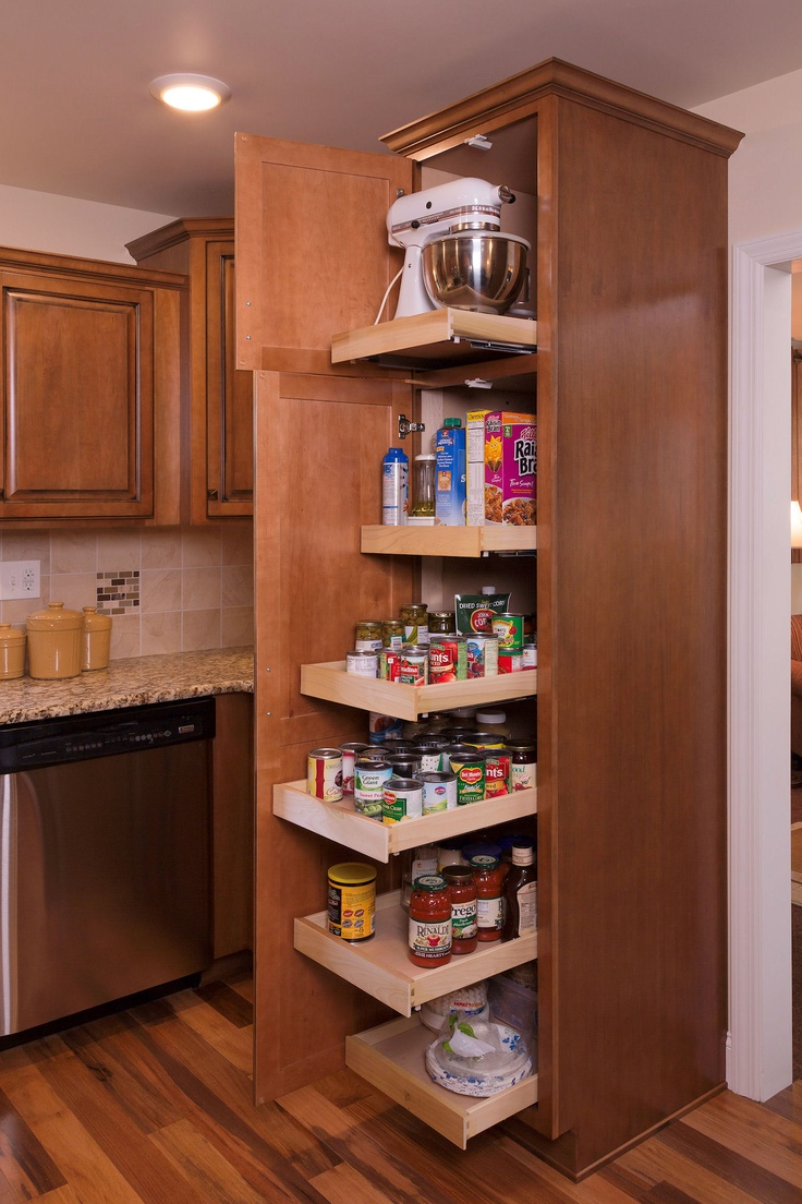 Full Extension Roll Out Pantry Shelves Kitchen Pantry