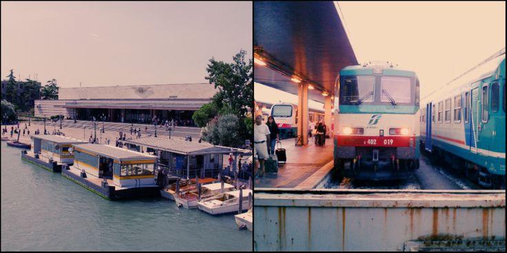 Вокзал Санта-Лючия (Stazione di Venezia Santa Lucia)   Венецианская сказка